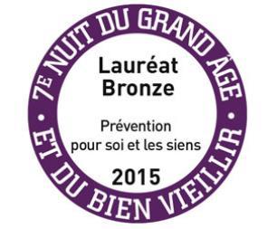 Prix bronze categorie prévention pour arthrocoach